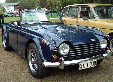 Classic Triumph cars for sale «